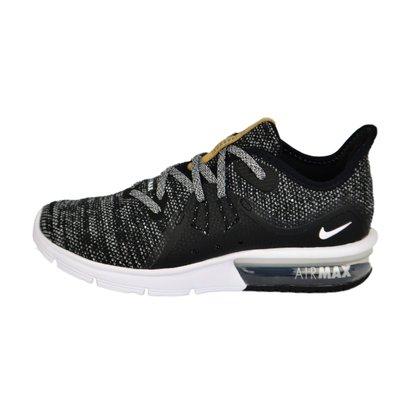 Tênis Feminino Nike Air Max Sequent 3 Preto/cinza