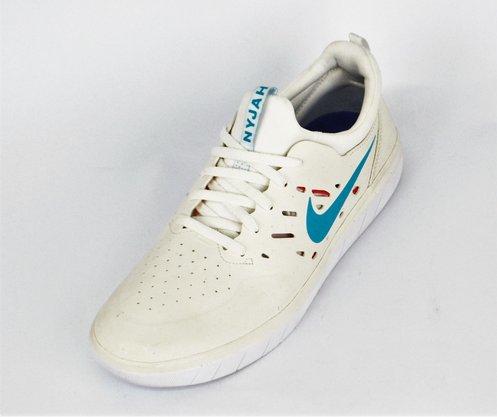 Tênis Masculino Nike SB Nyjah Free Branco
