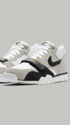 Tênis Nike SB Air Trainer I Iso Cinza/Branco/Preto