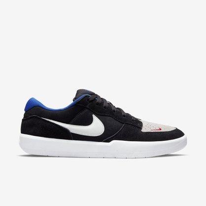 Tênis Nike SB Force 58 Preto/Branco/Azul