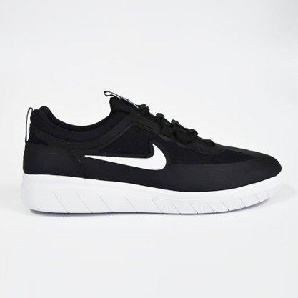 Tênis Nike SB Nyjah Free 2.0 Preto/Branco