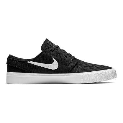 Tênis Nike SB Zoom Janoski Canvas Preto/Branco