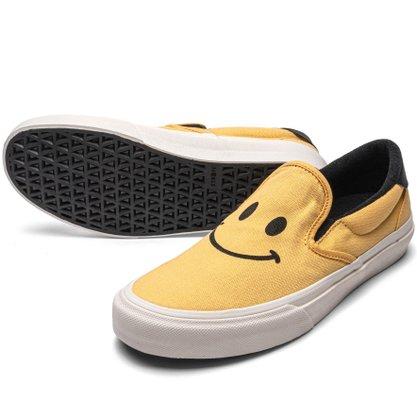 Tênis Straye Ventura Smile Amarelo