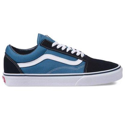 Tênis Vans Old Skool Azul/Branco