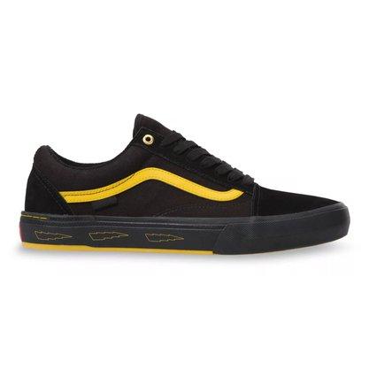 Tênis Vans Old Skool Pro BMX Preto/Amarelo