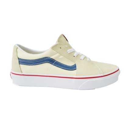 Tênis Vans Sk8-Low Off White/Azul