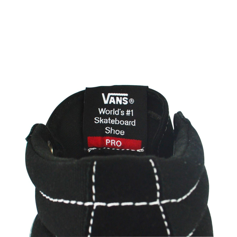 Tênis Vans Sk8-Hi Mid Pro Preto Branco - Gord s House 049ba0eaf6f8e