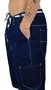 Bermuda Hocks Bag OG Jeans Escuro