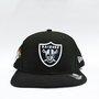 Boné New Era NFL Raiders Street Taste Throw Preto