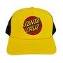 Boné Santa Cruz Classic Dot Amarelo/Preto
