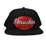 Boné Thrasher oval Script Logo Preto