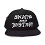 Boné Thrasher Skate and Destroy Preto