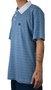 Camisa Polo Hocks Jacquard Azul