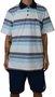 Camisa Polo Hocks Rio Branco/Azul/Cinza