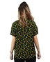 Camisa Vans Commaending Lead Preto/Floral