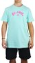 Camiseta Billabong Arch Wave Azul Claro