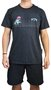 Camiseta Billabong Avenue Mescla Escuro
