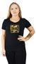 Camiseta Billabong Color Block Preto
