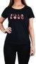 Camiseta Billabong Hey Mama Preto