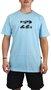 Camiseta Billabong Team Wave III Azul Claro