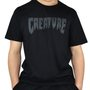 Camiseta Creature Shredded Preto
