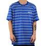Camiseta DC Jess Listras Azul