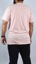 Camiseta DC Shoes Diagonal Tape Rosa Claro
