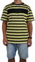 Camiseta DGK Attack Preto/Amarelo/Cinza