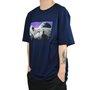 Camiseta DGK Spaced Out Azul Marinho
