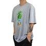 Camiseta DGK Tropical Fruit Mescla Claro