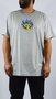 Camiseta Drop Dead Big Firing Logo Mescla Claro