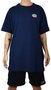 Camiseta Drop Dead Chrome Azul Marinho