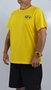 Camiseta Drop Dead Classic Logo 2 Chest Amarelo