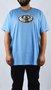 Camiseta Drop Dead Faces of Life Azul Claro