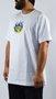 Camiseta Drop Dead Firing Logo Branco