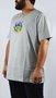 Camiseta Drop Dead Firing Logo Mescla Claro