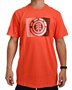 Camiseta Element Monza Crew Laranja