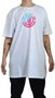 Camiseta Element Quadrant Teal Branco