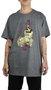 Camiseta Fallen Bourboun Mescla Escuro