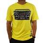 Camiseta Grizzly Boom Box Amarelo