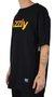 Camiseta Grizzly Lowercase Fadeway Preto