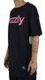 Camiseta Grizzly Lowercase Logo Preto