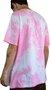Camiseta Grow Company Tie Dye Pink Rosa/Branco