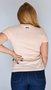 Camiseta Hocks Bord Rosa Claro