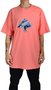 Camiseta LRG Mount High Tree Tee Coral