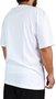 Camiseta LRG Size Stack Logo Branco
