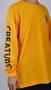 Camiseta Manga Longa Creature Return of the Fiend Amarelo