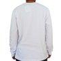 Camiseta Manga Longa New Skate Baseball Branco