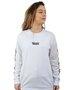 Camiseta Manga Longa Vans Jefferspin Branco