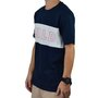 Camiseta Masculina Child Collar Azul Marinho